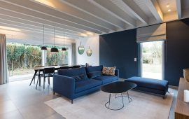 espace de vie maison ossature bois Soumagne