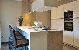intérieur cuisine - maison ossature bois Tomwood