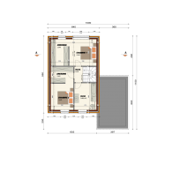 plan étage ecostyle 2