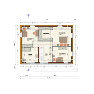 AP 40 Plan étage