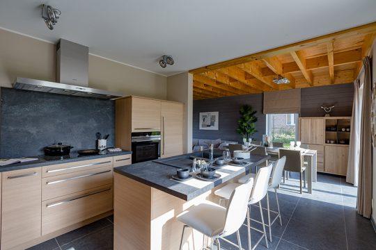 cuisine & salle à manger maison en bois TomWood Ghislenghien