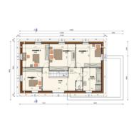 REF 168 plan étage