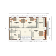 AP 74 Plan étage