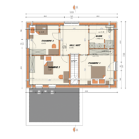 AP 306 Plan étage